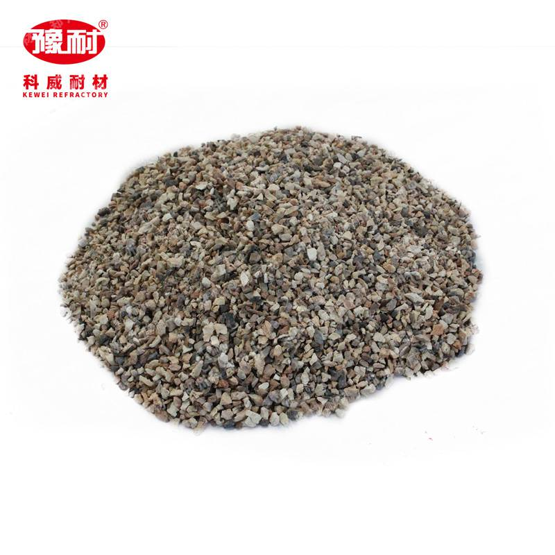 耐火高铝骨料 高铝矾土熟料骨料 科威耐材 精选原料