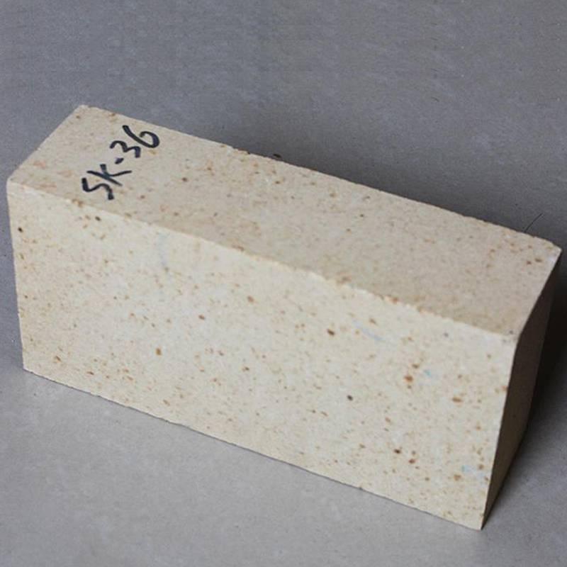 郑州科威供应LZ-65高铝耐火砖 二级高铝砖 高铝砖厂家 支持来图定制 异型高铝砖